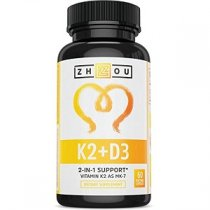 VITAMIN D3 AND K2 COMPLEX 60 CAPSULAS