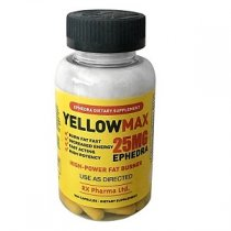 YELLOW MAX 25 MG EPHEDRA 100 CAPSULAS