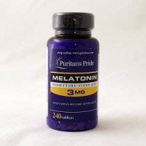 PURITANS MELATONIN 3 MG 240 CAPSULAS