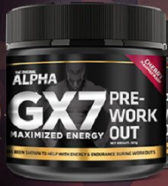 ALPHA GX7 PRE WORKOUT 265 GRAMOS