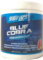BLUE COBRA PRE WORKOUT 240 GRAMOS