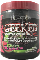GEEKED PRE WORKOUT 265 GRAMOS