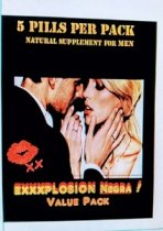 EXXXPLOSION NEGRA 5 CAPSULAS