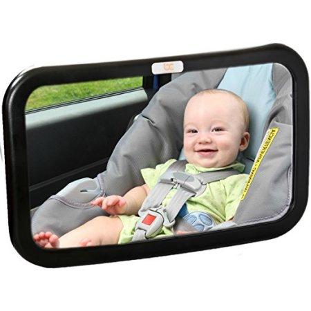 Baby Caboodle asiento trasero del bebé Espejo - Extra Grande - Ideal para mirando hacia atrás Jardín de Infantes - ajustable