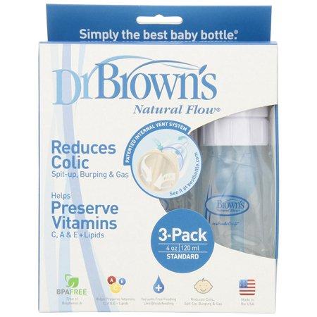Dr. Brown's Botellas originales para bebés - 4 oz 3 Conde