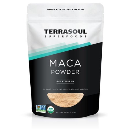 Terrasoul Superfoods Organic Gelatinized Maca Powder 1.0 Lb