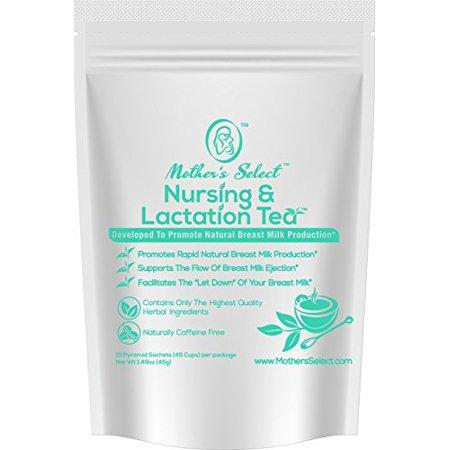 Enfermería y lactancia té Bolsitas de Mother's Select para aumentar la producción de leche de mama todo natural té de enferm