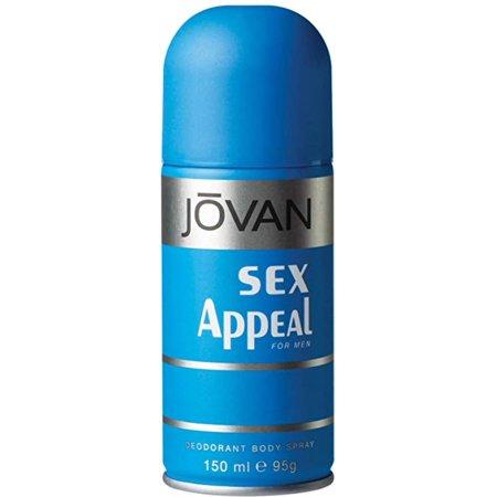 6 Pack - Jovan El atractivo sexual desodorante corporal Hombres 50 oz