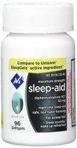 MEMBERS SLEEP AID 96 CAPS