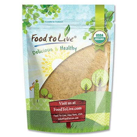 Food To Live Certified Organic Maca Powder (gelatinizado no-GMO a granel) (2 libras)