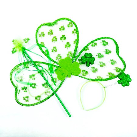 Children's Shamrock Accessory Set