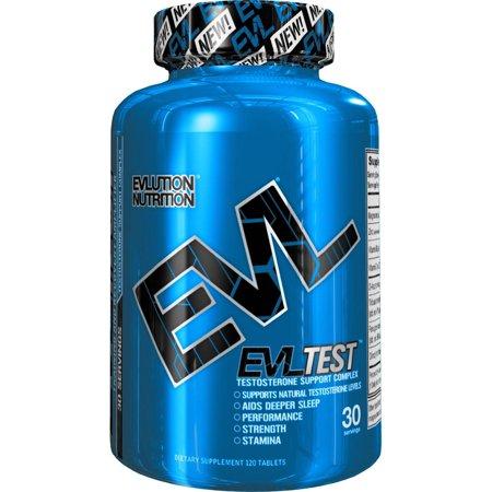 Evlution Nutrition EVLTest prueba elevadores 30 porciones