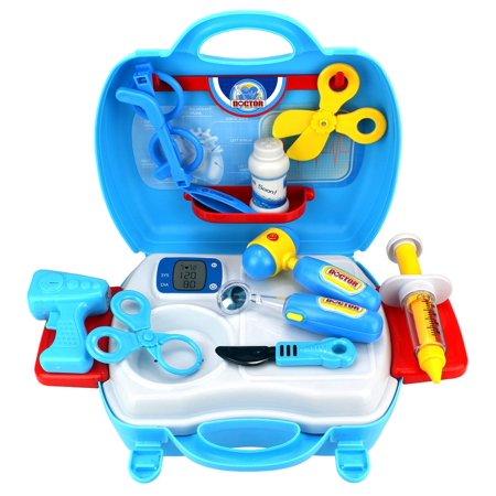 Sueño Juego de imaginación juguete doctor Nurse Niños del doctor Maleta niños del sistema w - Herramientas Accesorios