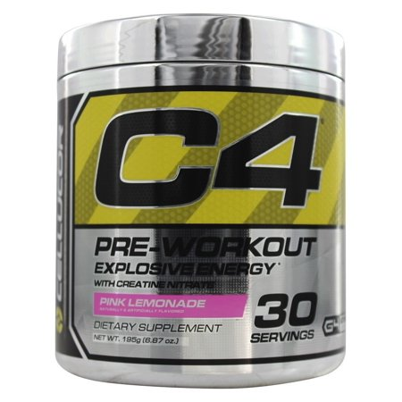 Cellucor C4 Explosive Energy Pre-Workout Powder Pink Lemonade 30 Servings
