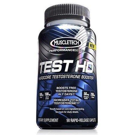 MuscleTech de la serie Performance Test HD - Testosterona para el músculo y la fuerza el 90 recuento