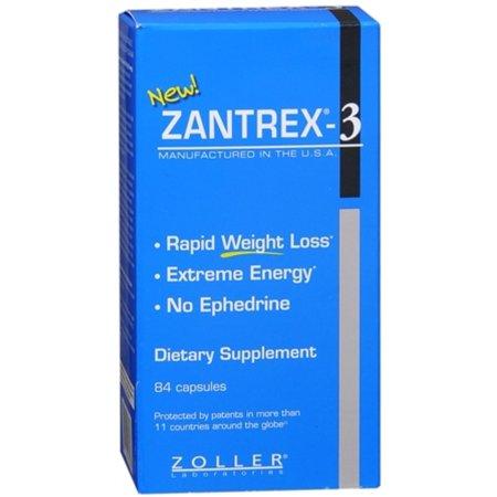 Zantrex-3 Cápsulas 84 cápsulas (paquete de 2)
