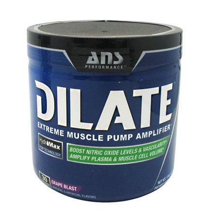 ANS Performance Dilatar sin cafeína antes del entrenamiento y el óxido nítrico Booster Detalle Suplemento bomba muscular Uva
