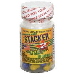 NVE Farmacéuticos Stacker 2 suplemento dietético a base de plantas 20 ea
