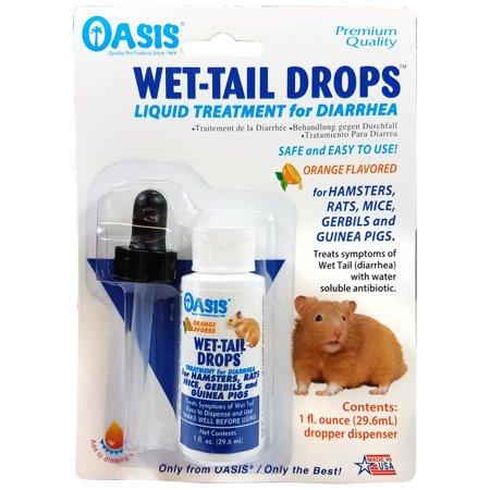 Oasis Wet-Cola Suelta el tratamiento de líquidos para la diarrea de los hámsters ratas ratones jerbos y conejillos de Indias 1
