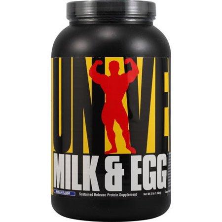 Universal Nutrición leche y proteína de huevo vainilla 3 Lb
