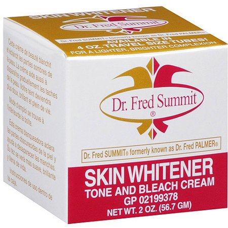 Fred Summit Skin Whitener Tone - Bleach Cream 2 oz