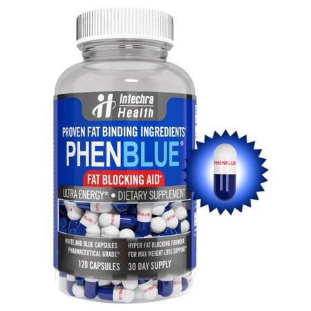 PHENBLUE Ultra Soporte Fat-Fighting con Energy Boost 120 Cápsulas
