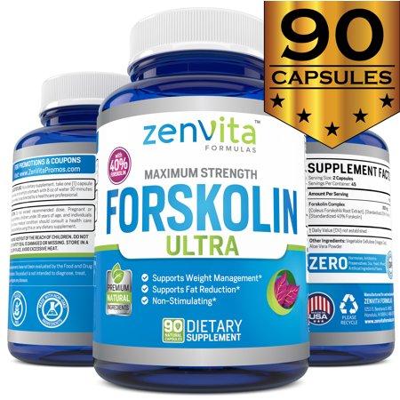 ZenVita Formulas Extracto de forskolina puro con 40% estandarizado Forskolin - 90 cápsulas 300 mg