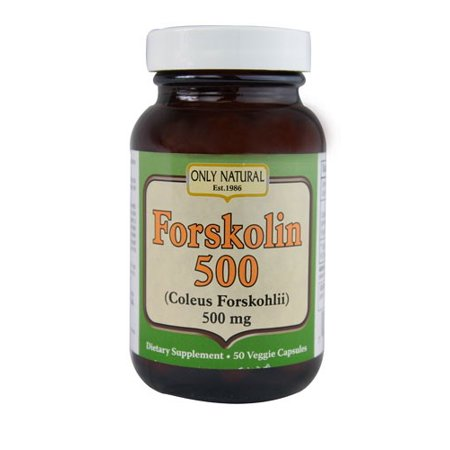 ONLY NATURAL Forskolin 50 Caps