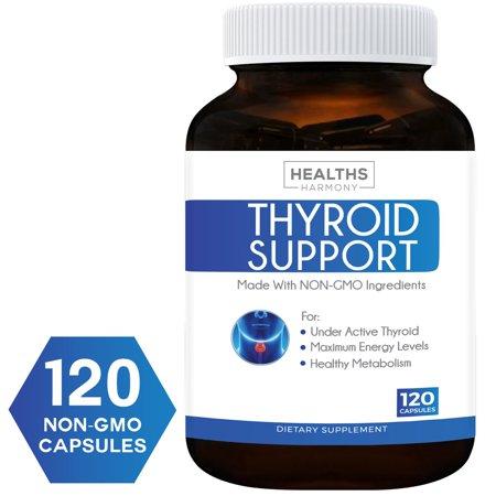 El mejor soporte tiroides suplemento (no OGM) 120 Cápsulas