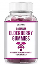 PREMIUM ELDERBERRY GUMMIES 60 GOMITAS