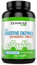 ZENWISE HEALTH DAILY DIGESTIVE ENZYMES 180 CAPS