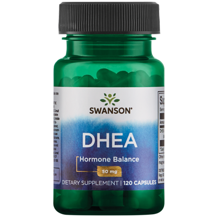 Swanson DHEA (dehidroepiandrosterona) Cápsulas 50 mg 120 Ct