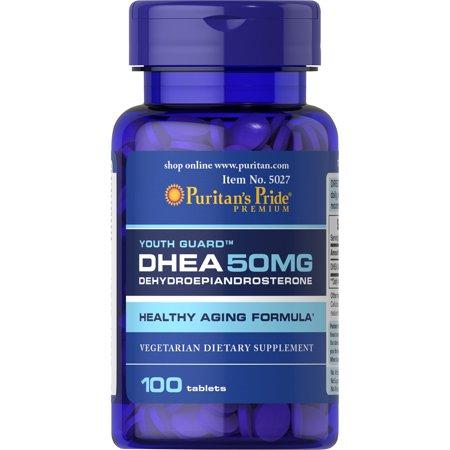Puritan's Pride DHEA 50 mg 100 comprimidos