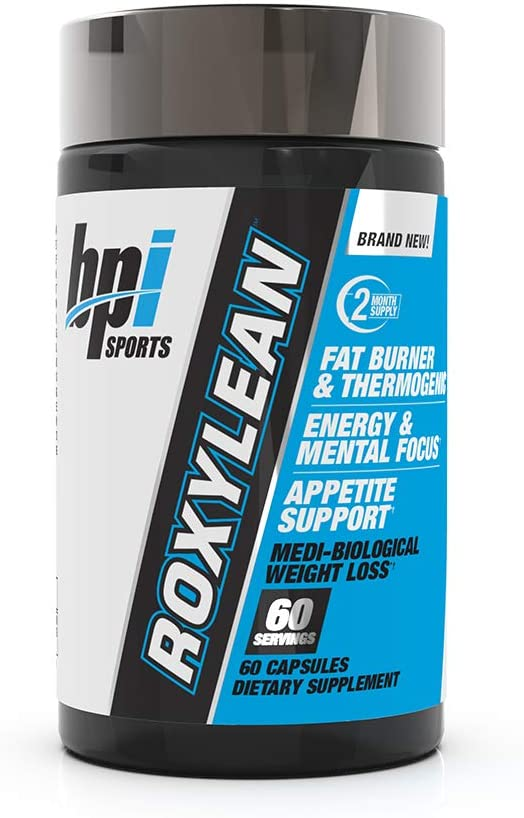 BPI SPORTS ROXYLEAN EXTREME FAT BURNER 60 COUNT